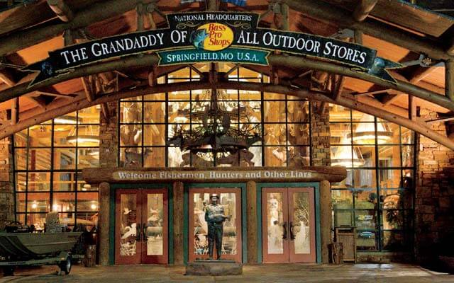 Bass Pro Shops Grandaddy Store Entrance
