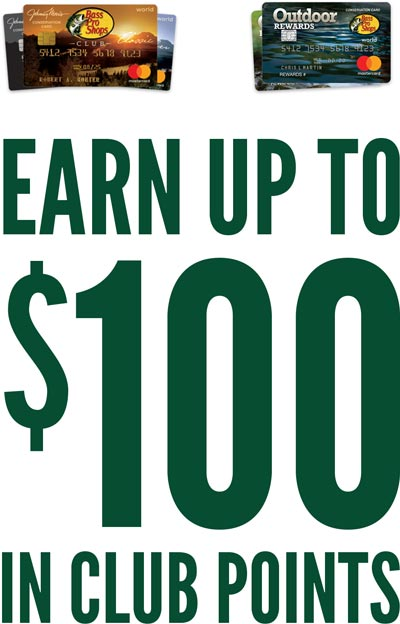 Earn up to $100 in CLUB points