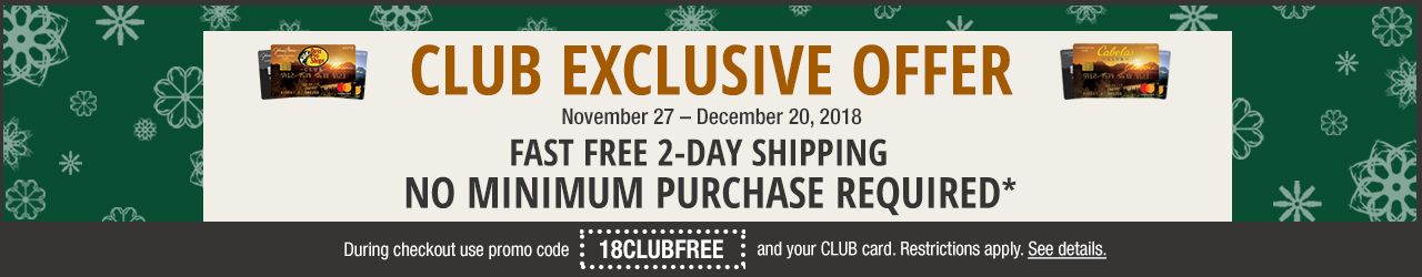 CLUB Fast and Free Shipping Today Only