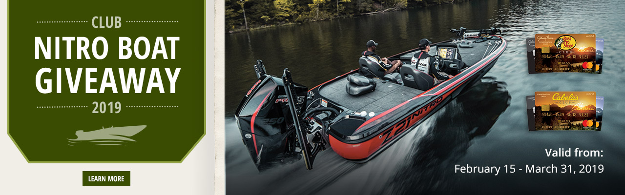 Nitro boat giveaway - Learn More