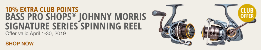Johnny Morris Signature Series Spinning Reel