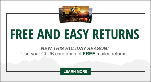 Free and Easy Returns - Learn More