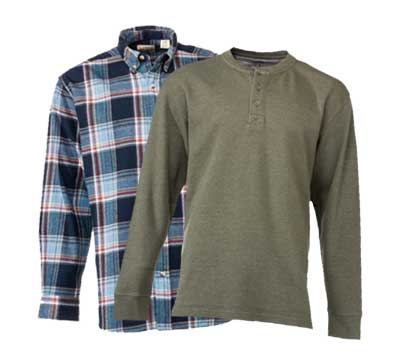 Select RedHead Flannel or Henley - Save up to 25%
