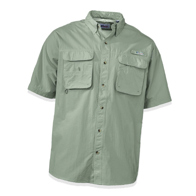 World Wide Sportsman Nylon Angler Short-Sleeve Shirt
