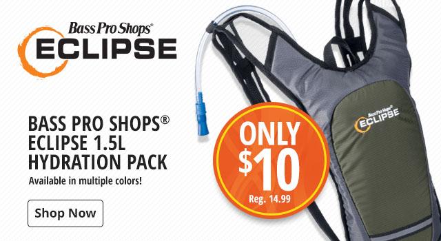 6c3c7f6c8db Only  10 Bass Pro Shops Eclipse 1.5L Hydration Pack - Shop Now
