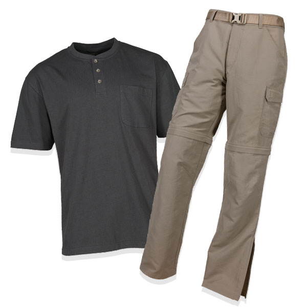 Men's shirt and pants
