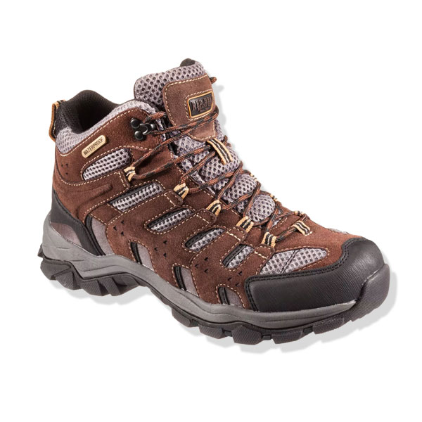 Save $30 on RedHead Overland Mid Hiking Boots for Men or Ladies