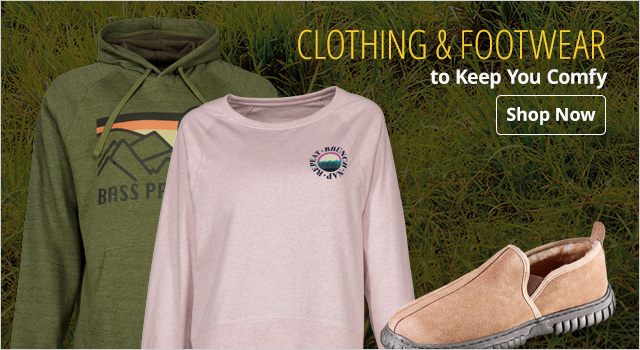 Clothing & Footwear to keep you comfy