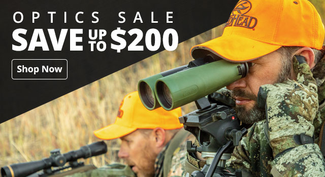 Optics Sale - Save up to $200