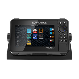 Lowrance HDS LIVE 7 Fishfinder/Chartplotter - HDS-7 LIVE Amer Xd Ai 3-In-1