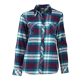 Natural Reflections Flannel Long-Sleeve Shirt For Ladies