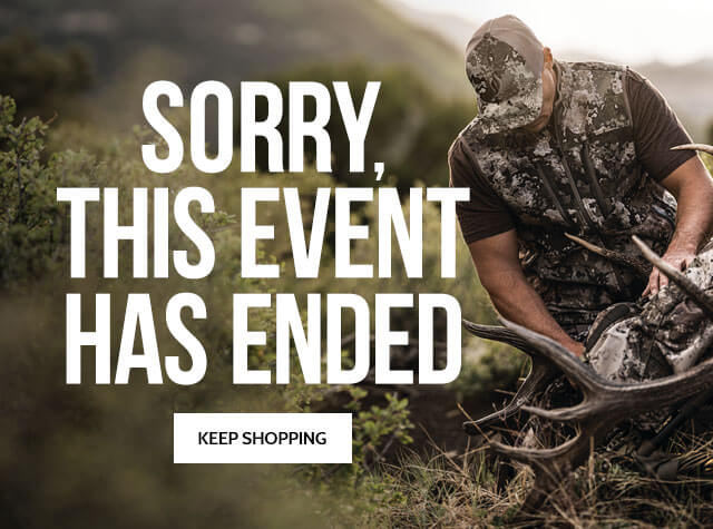 This Event Has Ended - Keep Shopping