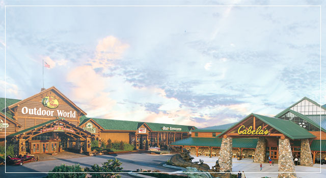 Bass Pro Shops and Cabela's Storefronts