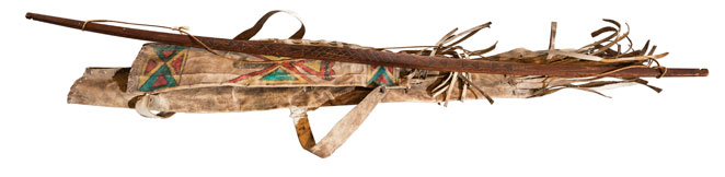 Geronimo's Bow and Quiver