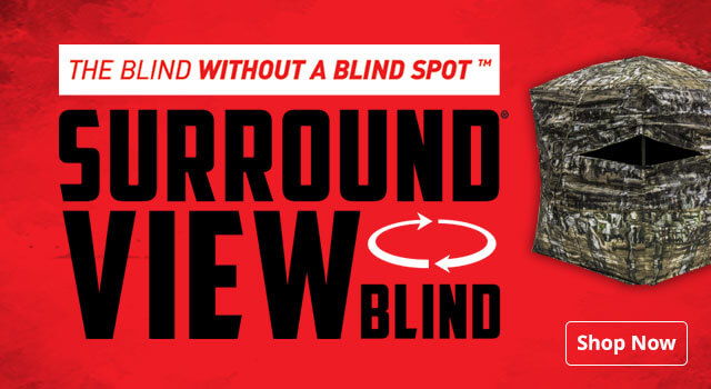Double Bull Blinds. The Blind Without a Blind Spot - Shop Now