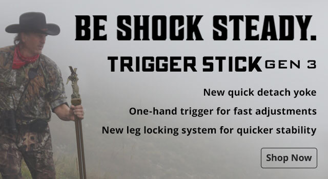 Be Shock Steady. Trigger Stick Gen 3 - Shop Now