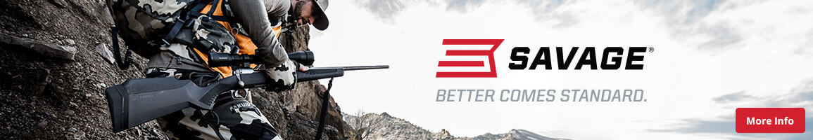 Shop All Savage Arms Firearms | Bass Pro Shops