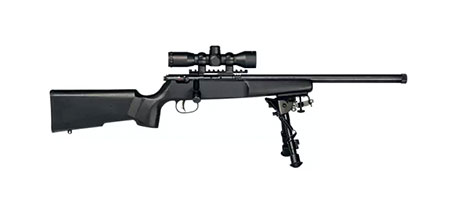 Savage Rascal Target XP Youth Single Shot Bolt-Action Rimfire Rifle