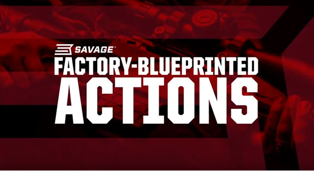 Savage Performance Factory Blue Printed Actions Video