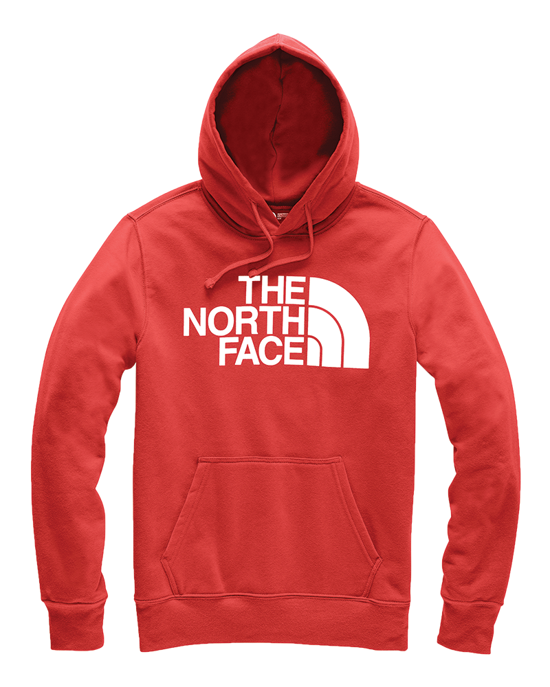 Half Dome Hoodie in Sunbaked Red