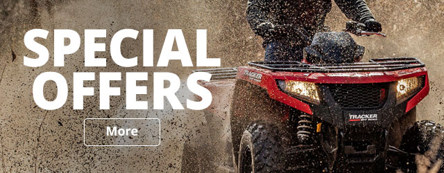Tracker Off-Road Special Offers