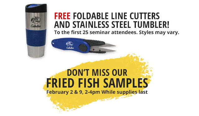 Free Foldable Line Cutters and Stainless Steel Tumbler