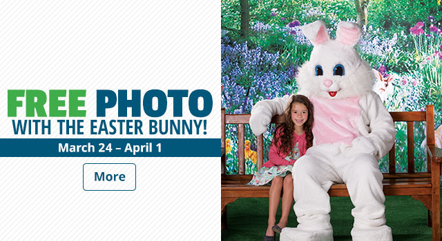 FREE Photo With the Easter Bunny! - More Info