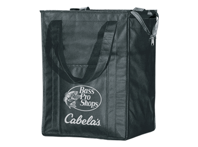 Black Bass Pro & Cabela's tote