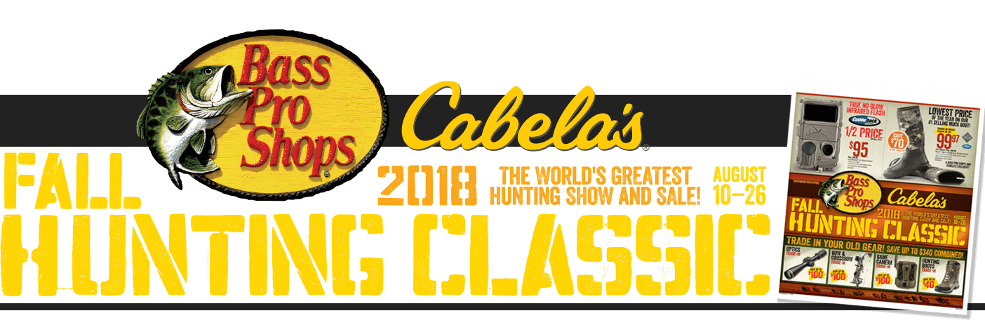 2018 Fall Hunting Classic - August 10-26
