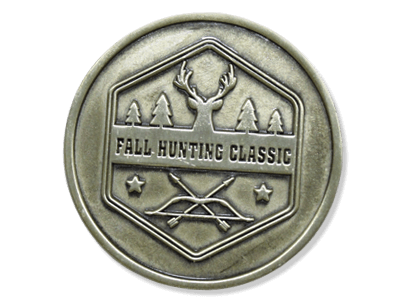 Fall Hunting Classic Medallion