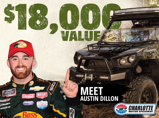 $18,000 Value & meet Austin Dillon