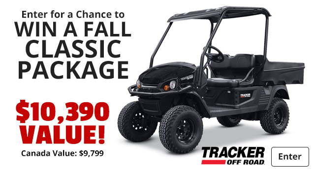 Enter for a Chance to Win a Fall Classic Package worth $10,390