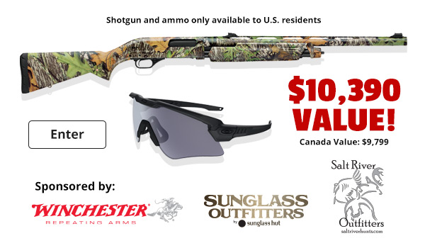 Sponsored by Winchester, Sunglass Outfitters, Salt River Outfitters