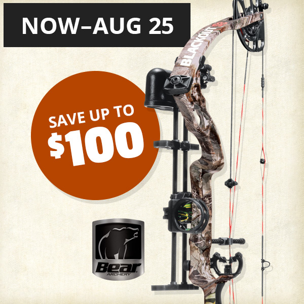 August 9-18: Save up to $100