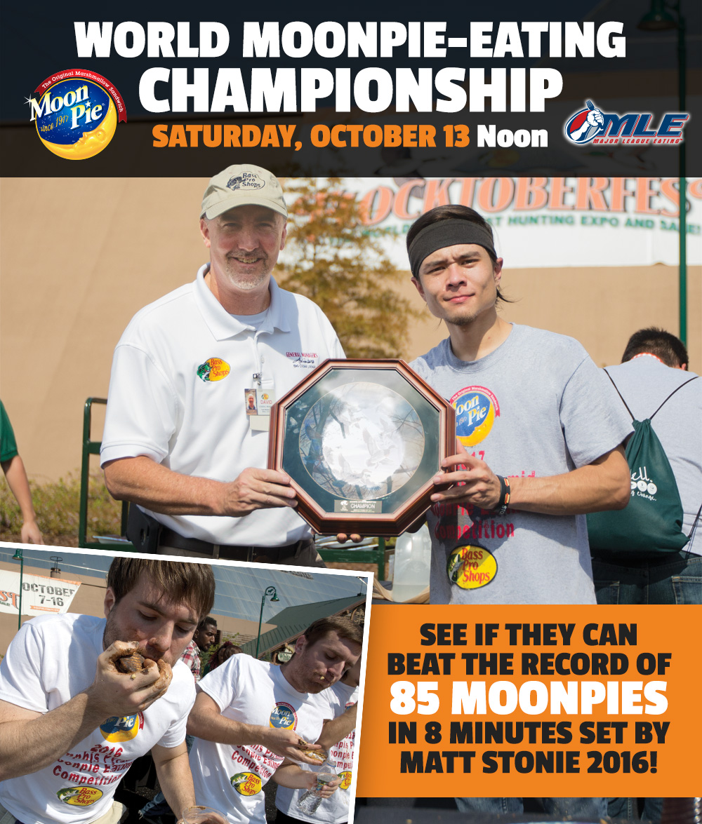 World Moonpie-Eating Championship - Saturday, October 13