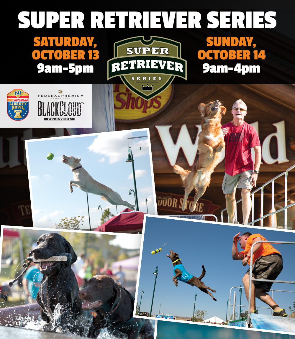 Super Retriever Series - Saturday, October 13 9am-5pm & Sunday, October 14 9am-3pm