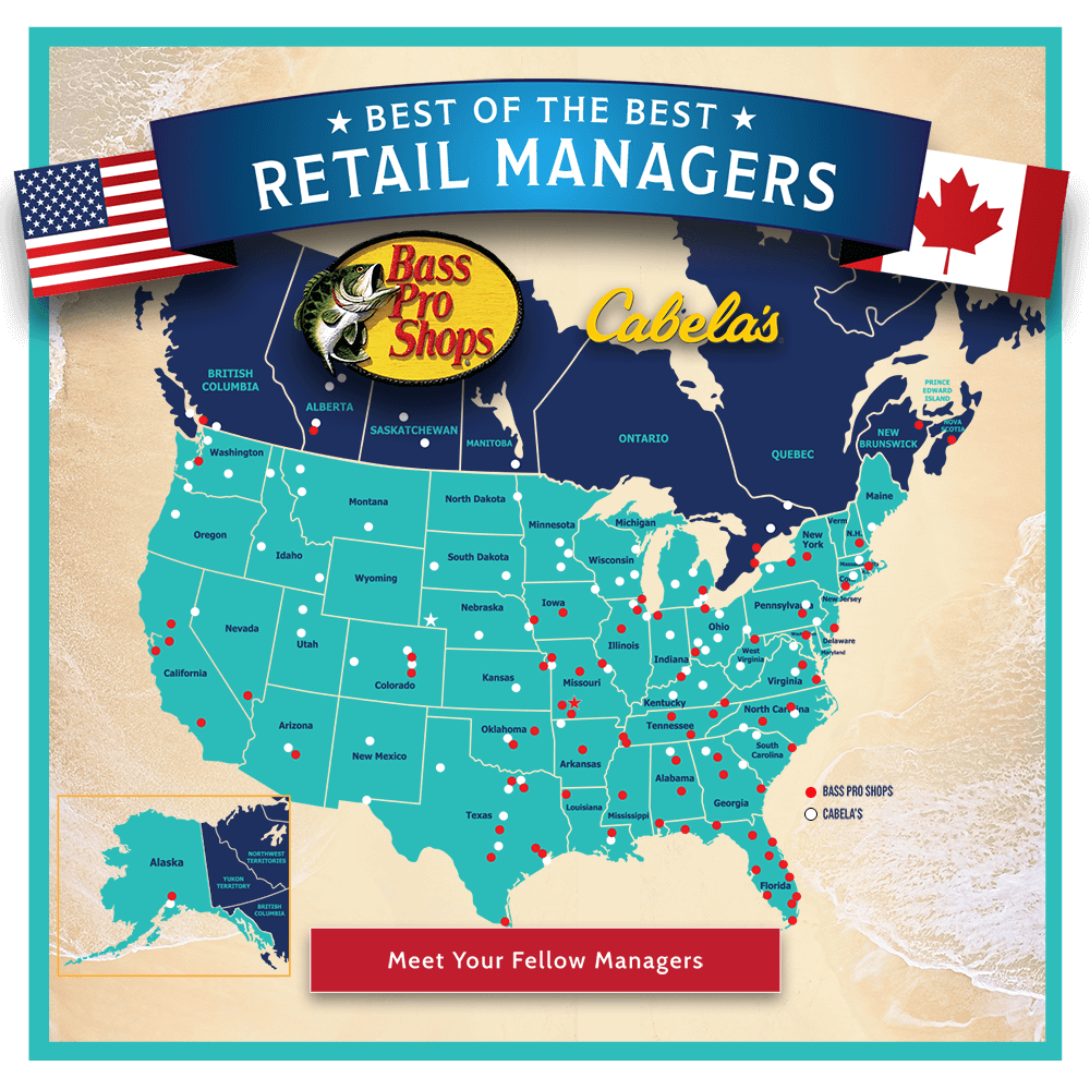 General Managers Map