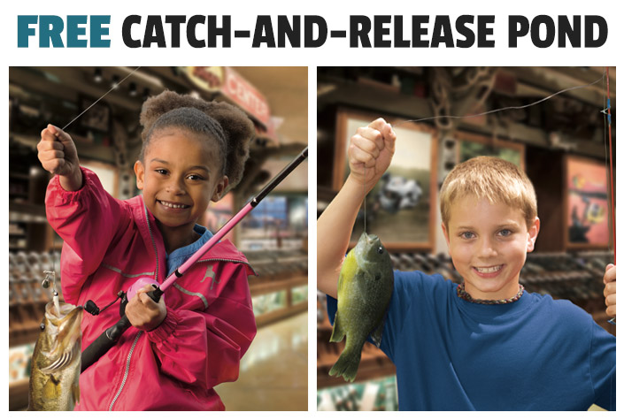 Free Catch-And-Release Pond