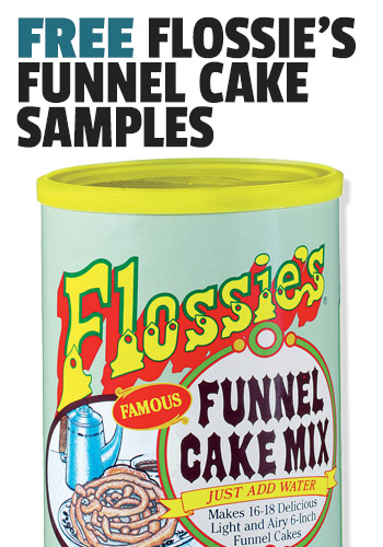 FREE Flossie's Funnel Cake Samples