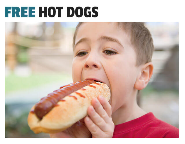 FREE Hot Dogs