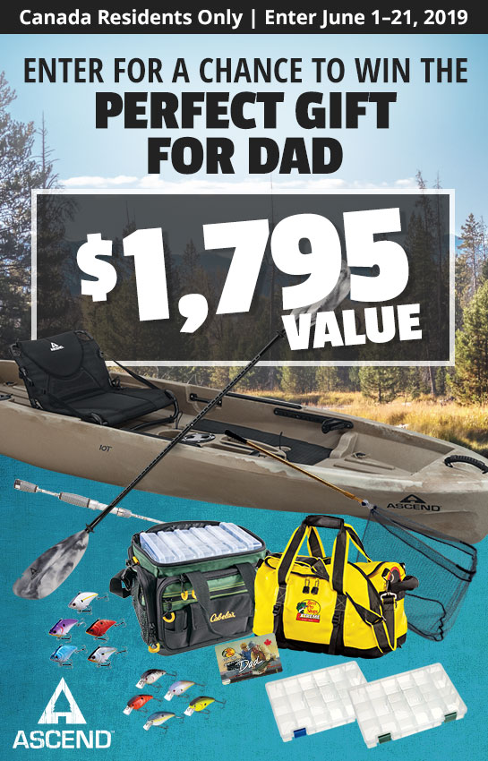 Canada - Enter for a Chance to Win the Perfect Gift for Dad