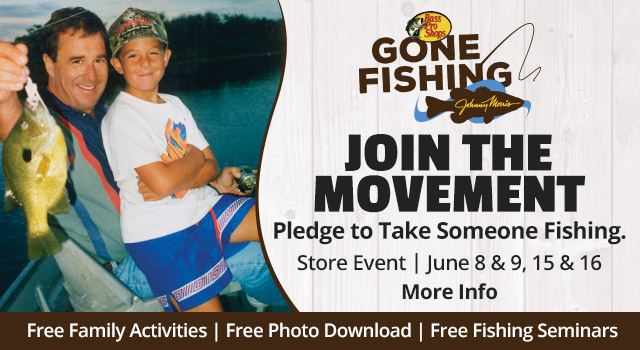 Gone Fishing - Join the Movement - Pledge to Take Someone Fishing.