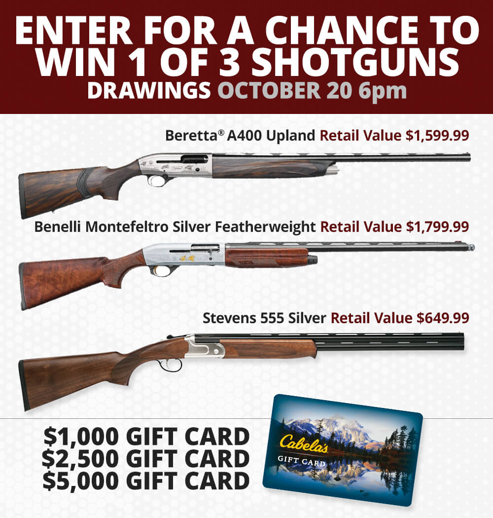 Enter for a Chance to Win - October 21, 6pm