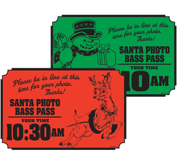Santa Photo Bass Pass