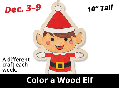 Color a Wood Elf