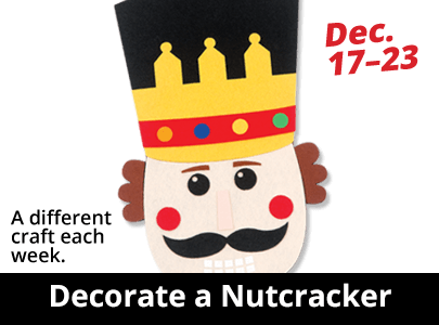 Decorate a Nutcracker
