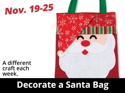 Decorate a Santa Bag