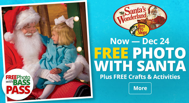 Now - Dec 24 - Free Photo with Santa - More