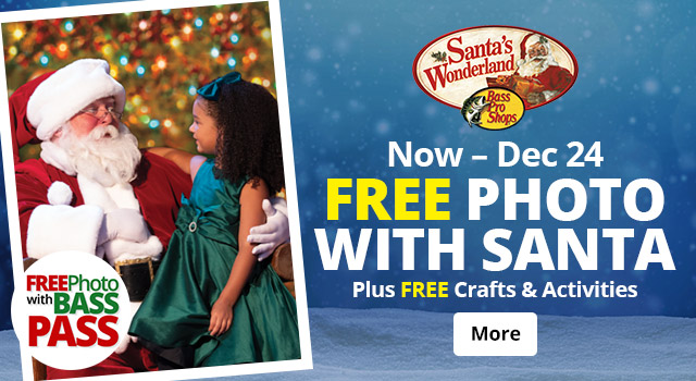 Free Photo with Santa - Now thru Dec 24