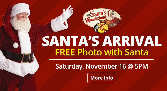 Santa's Arrival - Free Photo with Santa, November 16 at 5pm